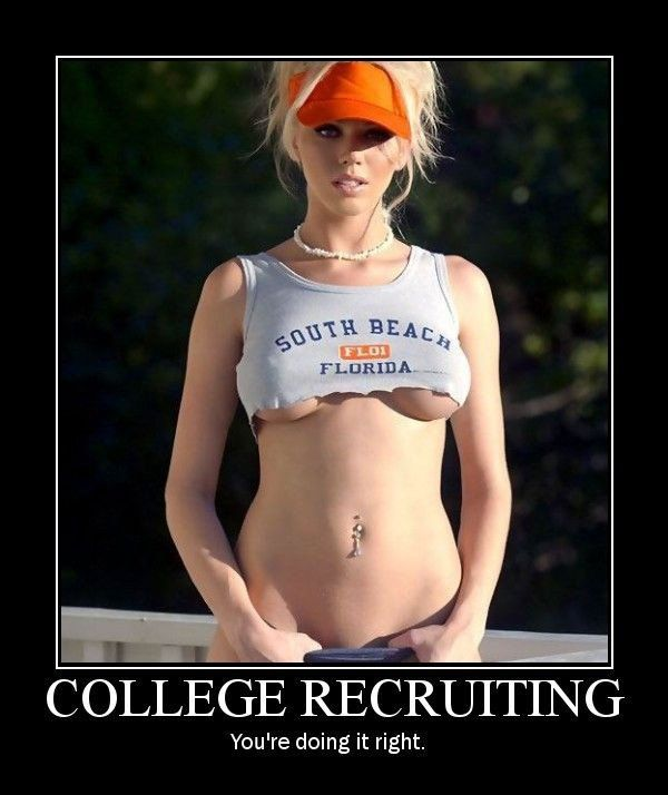college recruiter for guys