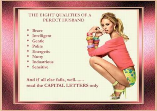 what beautiful women want in a perfect husband