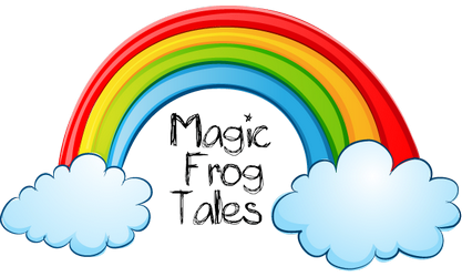 magic frog as rainbow